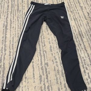 Adidas 3 Stripe tights